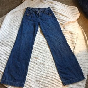 Gap timeless wide leg jeans